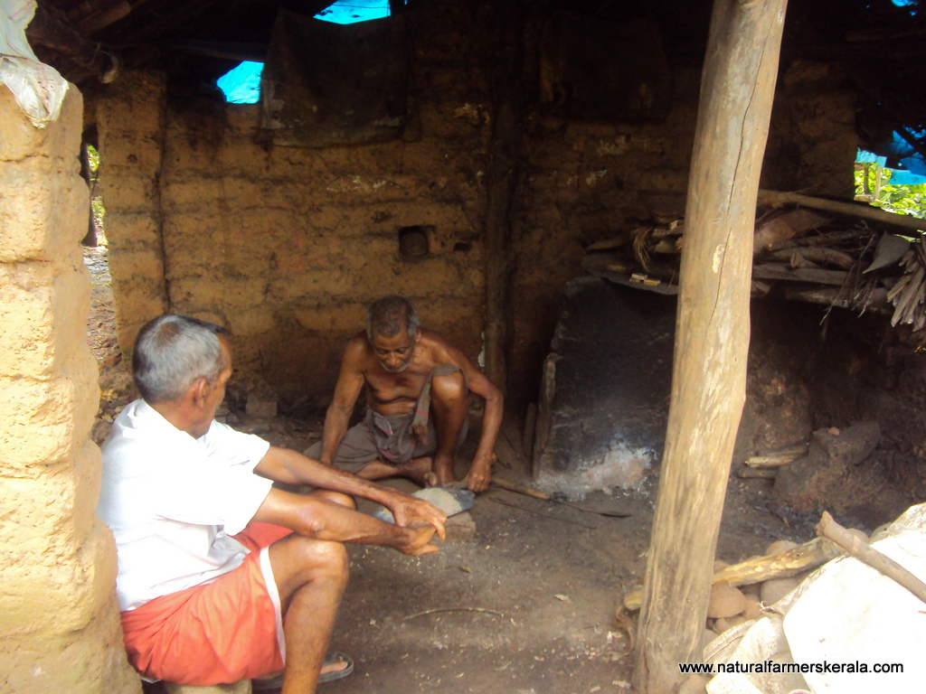 Traditional Blacksmith in his Workshop