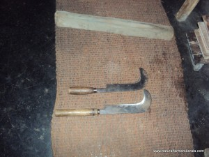 Billhook or Katiyal of Kerala