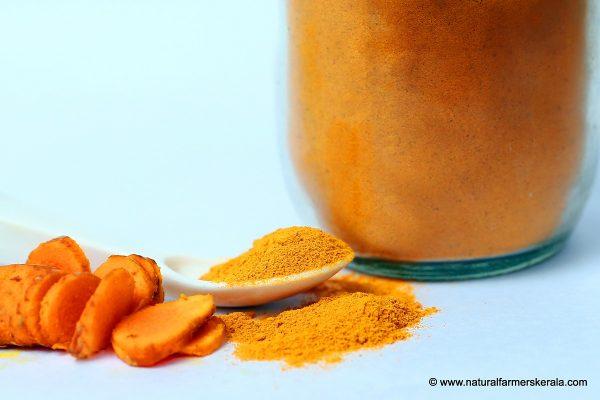 Naturally grown Kerala turmeric powder