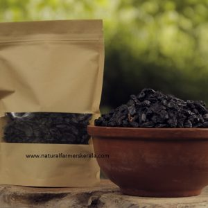 Organic dried grapes. Raisins grown naturally and sun dried