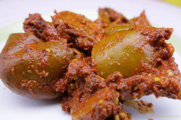 Kerala style mango pickle